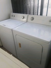 Roper washer and gas dryer set heavy duty in good  Vista, 92084