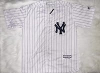 New York Yankees Coolbase Jersey White/Pinstripe Surrey, V4N 1B6