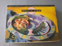 Mosaic fish platter New Costa Mesa, 92627