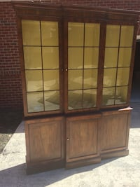 Vintage Wood Caninet w/ Display Case includes key Charlotte, 28262