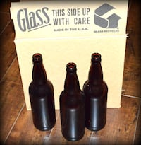 Homebrew Beer Bottles