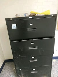 black metal 2-drawer filing cabinet Washington, 20001