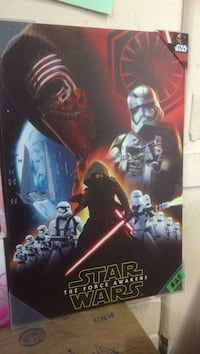 Star Wars The Force Awakens poster 23.5x15.5