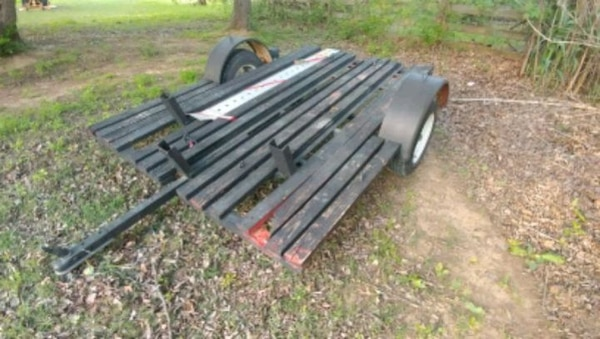 Used 3 Rail Motorcycle Trailer For Sale In Flower Mound Letgo
