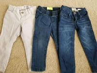 two blue and gray denim jeans White Plains, 20695