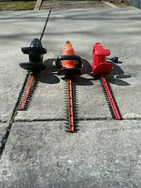 3 used electric hedge trimmers $20 Germantown, 20876