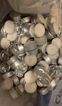 80 tea light candles