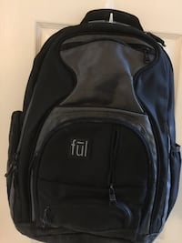 Black computer backpack Chesapeake, 23320