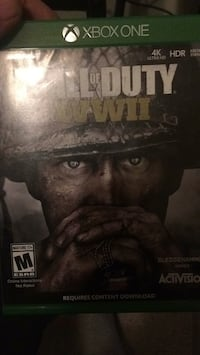 Call of duty ww2 xbox 1 Muskegon, 49442