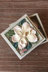 Vintage Ibis and Orchid tealight box Ashburn, 20147