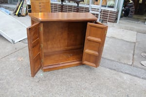 Console Table - with storage $55
