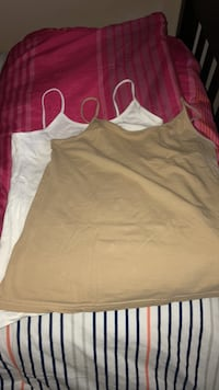 Women's white and beige  tank tops Laval, H7V 3C2