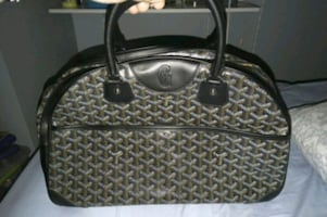 Goyard jeanne bowling bag not stamped