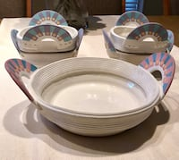 Artistic Ceramic Bowl Set   Rockville, 20850
