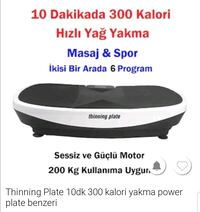 Power plate Mahfesığmaz, 01170