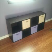 8 cube organizer with 4 baskets Mount Pleasant, 48858