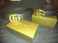 Gucci belt...gold buckle Concord, 94520