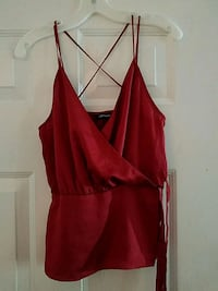 Express red strappy shirt never worn  Burke, 22015