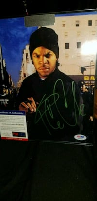 Ice Cube signed & authenticated 8x10 photo