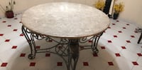 round brown marble top table Vaughan, L4H 4C3