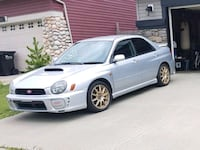 SUBARU WRX STI  TURBO 6SPEED V7 Sherwood Park, T8H 0P3