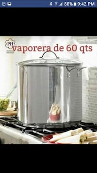 stainless steel and black Hamilton Beach slow cooker Houston, 77076