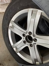 "17"" winter tires with rim set for Mercedes Vancouver, V6N 2J5"