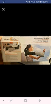 Brandnew sonic comfort neck and shoulders massager 541 km