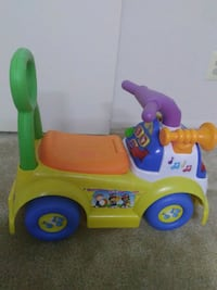 Musical rider car with Walker ( home is pet free and smoke free) Rockville