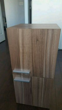 Bathroom cabinet (small) in walnut finish