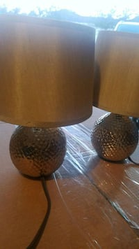 two brown and black table lamps Homestead, 33030