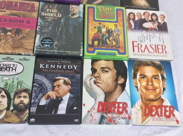 DVD Box Sets Various TV Shows Seasons $5 each e6b40a51-b489-4770-b679-155d942cee51