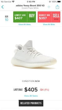 Yeezy 350 cream white London, N5V 4X3