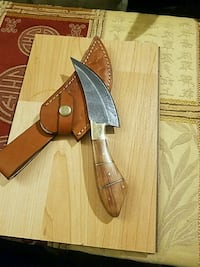 stainless steel dagger with sheath Richardson, 75081