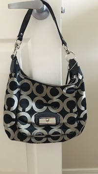 Black and white Coach bag Whitby