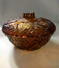 Glass Bowl with Lid Liberty, 64068