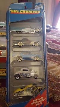 '50s Cruisers die-cast car collection with box