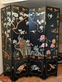 Four Panel Chinese Divider Edmonton, T5T 4X8