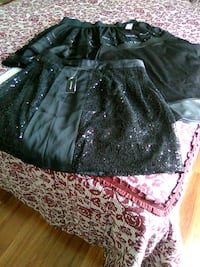 Black party skirts, all 3 for $20.00 Martinsburg, 25403