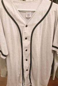 Black Striped White Baseball Shirt!!!