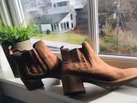 Brown Boots with heals Bergen, 5067
