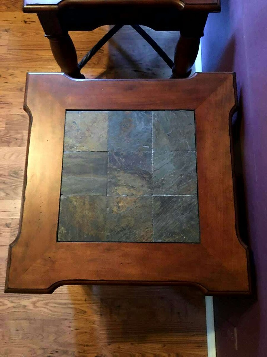 2 Ashley Furniture end tables