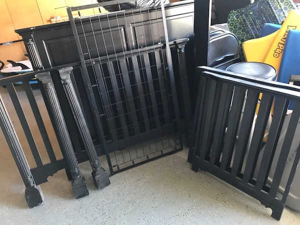 Used Crib Converts To Full Bed For Sale In San Diego Letgo