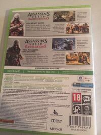 Xbox 360 games assassins creed brotherhood and revelations  Stockholm, 124 70