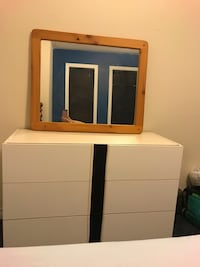 white and brown wooden dresser with mirror Richmond Hill, L4S 2T1