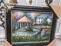 brown wooden framed painting of house near body of water Vallejo, 94591