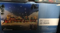 Outdoor Christmas Decoration- Train Brentwood, 94513