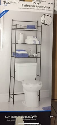Bathroom Shelf - Over the toilet bathroom storage space saver