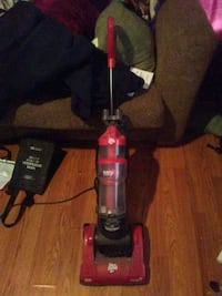 black and red upright vacuum cleaner Augusta, 30904