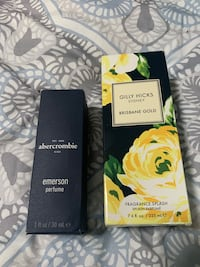 New in box Abercrombie and Gilly Hicks perfumes. $10 each. Lake Oswego, 97035